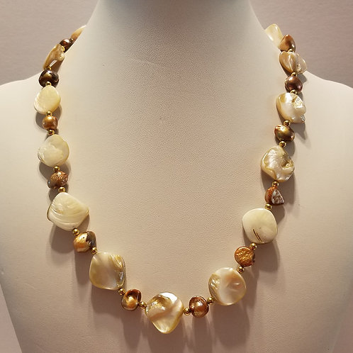 Chunky Shell and Pearl