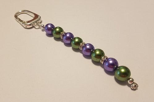 Purple and Green Clip