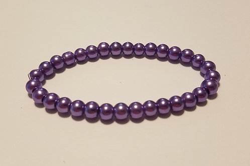 Purple Glass Pearls