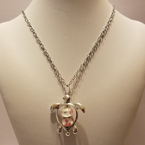 Antique Silver Turtle 2