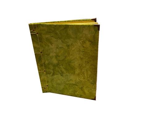 Green Tie-dye Photo Album