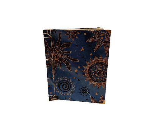 Blue/Gold Sun Journal