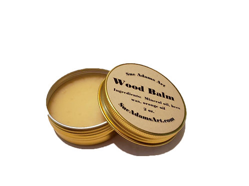 Wood Balm - 2 ounces