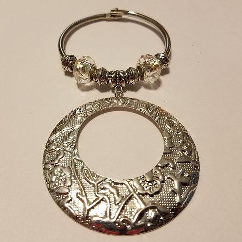 Silver Go-Go Scarf Ring