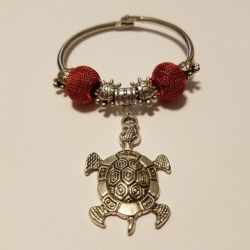 Turtle Scarf Ring
