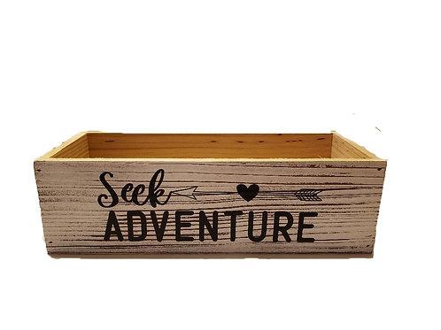 Wood Box - Seek Adventure