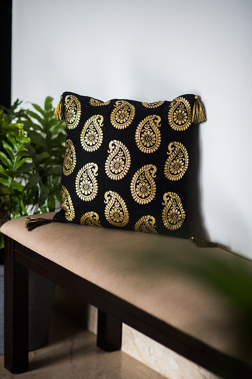 Navroz Golden Paisley (Deal of the Month)