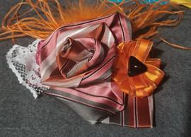 Orange & Pink Flower Pin.jpg