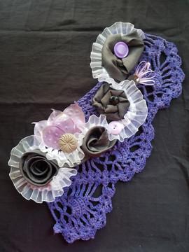 Purple and Grey Over Shoulder Flower Brooch.jpg
