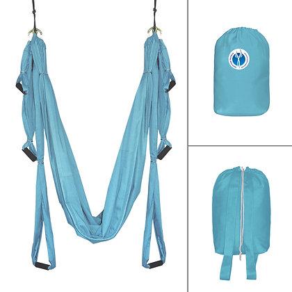 Гамак для йоги Middle #11 Голубой