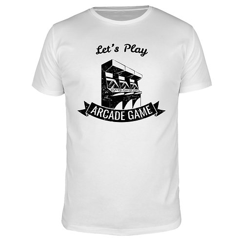 Lets Play Arcade Game - Männer T-Shirt