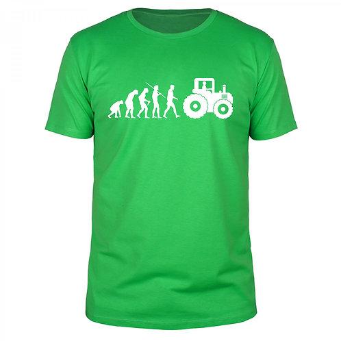 Evolution Landwirt - Männer T-Shirt