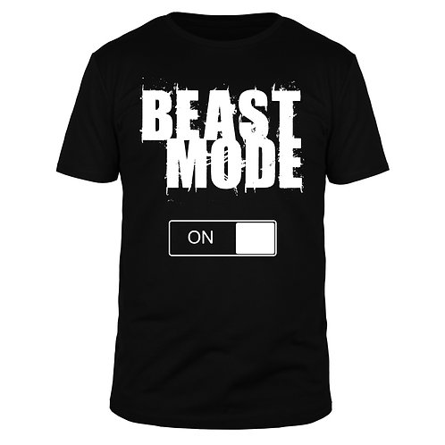 Beast Mode on - Männer T-Shirt