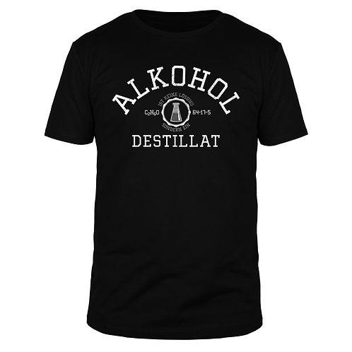 Alkohol ist keine Lösung sondern ein Destillat - Männer T-Shirt