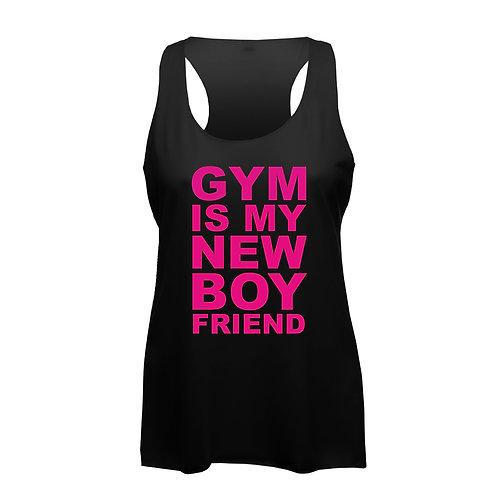 Gym is my new Boyfriend - Frauen Fitness Tank Top