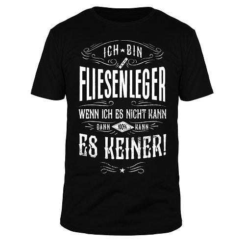 Ich bin Fliesenleger - Männer T-Shirt