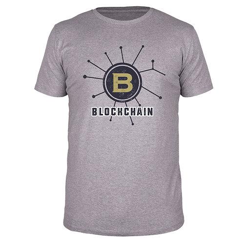 Blockchain Bitcoin - Männer T-Shirt