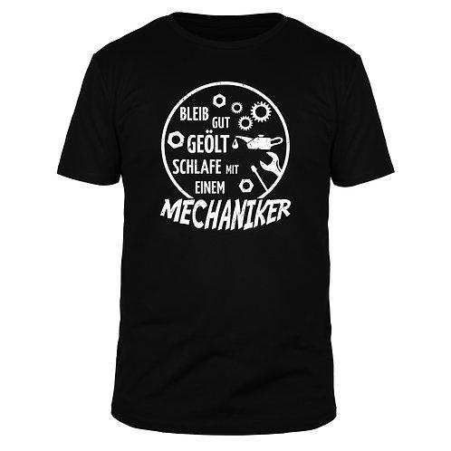 Bleib gut geölt - Männer T-Shirt