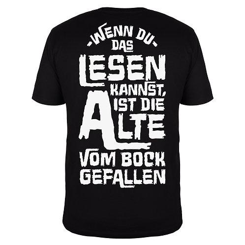 Wenn du das lesen kannst - Männer T-Shirt