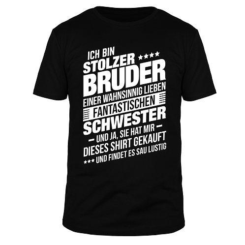 Ich bin stolzer Bruder - Männer T-Shirt