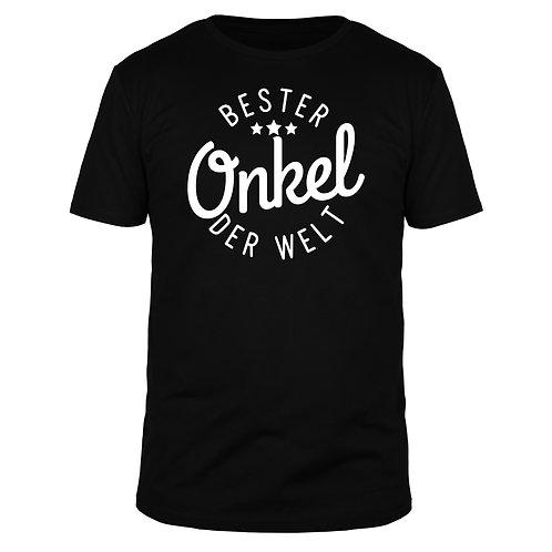 Bester Onkel der Welt - Männer T-Shirt