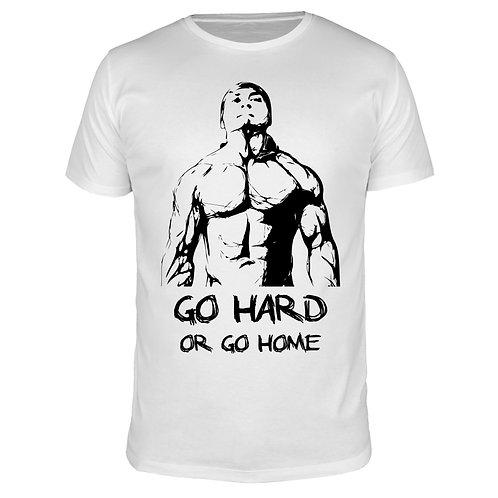 Go hard or go home - Männer T-Shirt