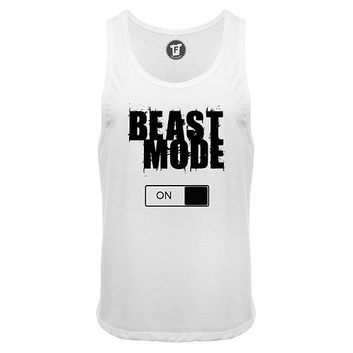 Beast Mode ON - Männer Deep Cut Tank Top