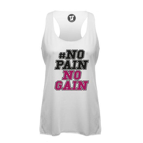 #No Pain No Gain - Frauen Fitness Tank Top