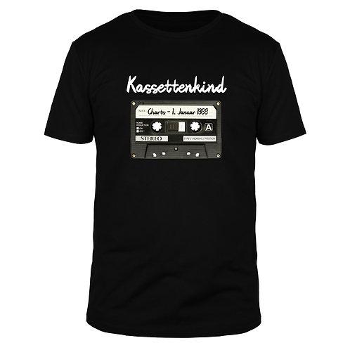 Kassettenkind Wunschname & Text - Männer T-Shirt