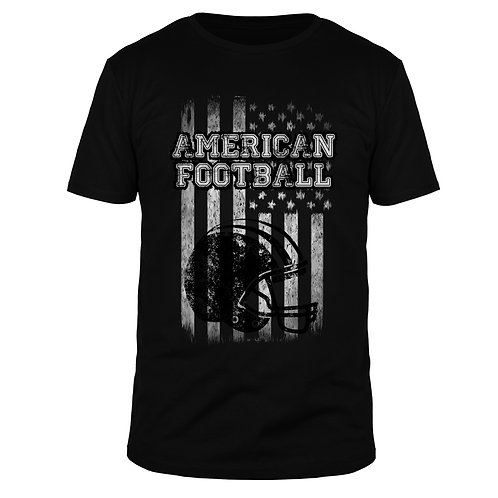 American Football US Stripes - Männer T-Shirt