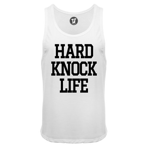 Hard Knock Life - Männer Deep Cut Tank Top