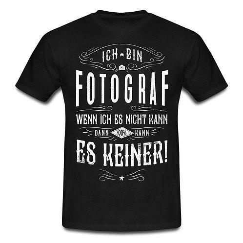Ich bin Fotograf - Männer T-Shirt