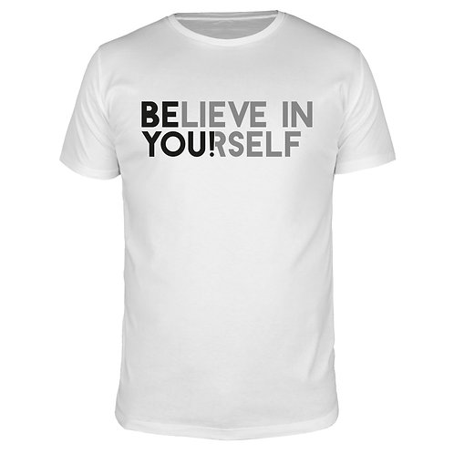 Believe in yourself - Männer T-Shirt
