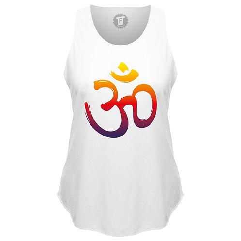 Om Sign - Frauen Yoga Loose Tank Top