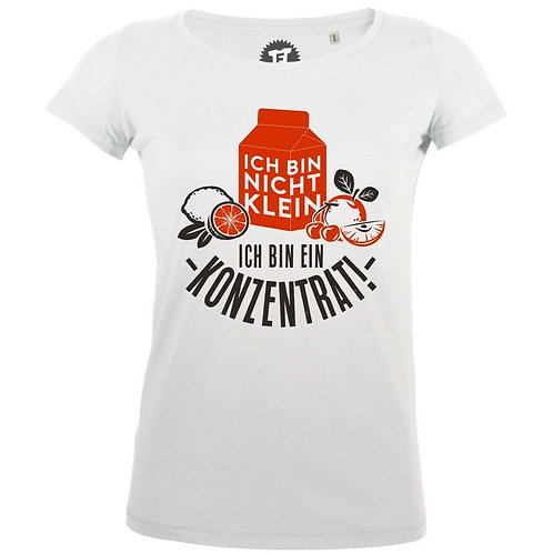 Ich bin nicht klein ich bin ein Konzentrat - Frauen T-Shirt