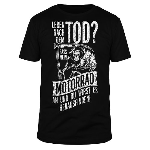 Leben nach dem Tod? - Männer T-Shirt