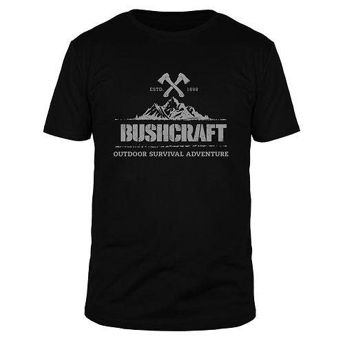 Bushcraft Outdoor Survival - Männer T-Shirt