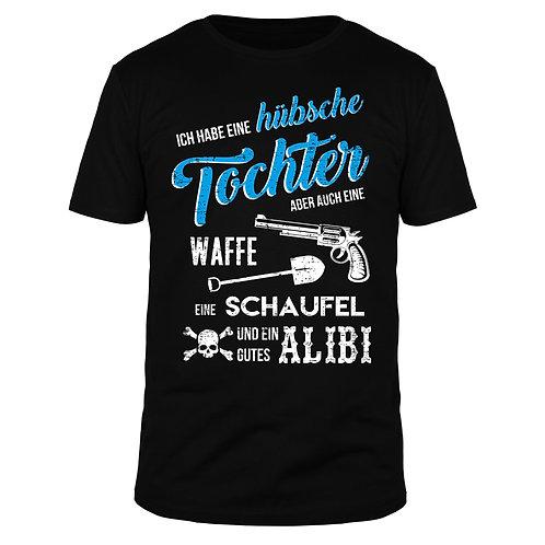 Ich habe eine hübsche Tochter - Männer T-Shirt