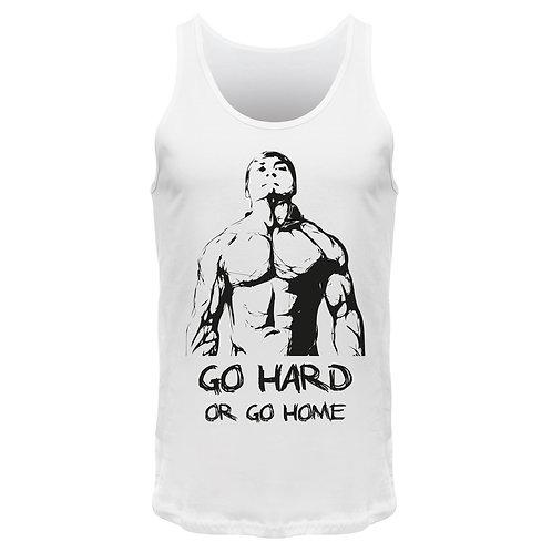 Go hard or go home - Männer Tank Top