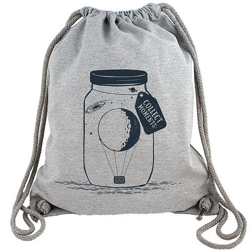 Collect Moments - Heißluftballon - Gym Bag Turnbeutel