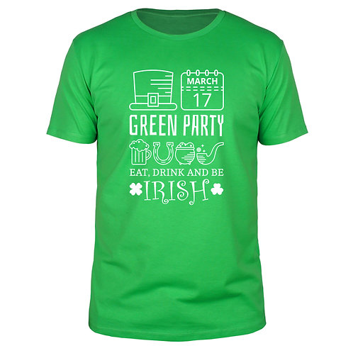 Green Day Irish Party - Männer T-Shirt