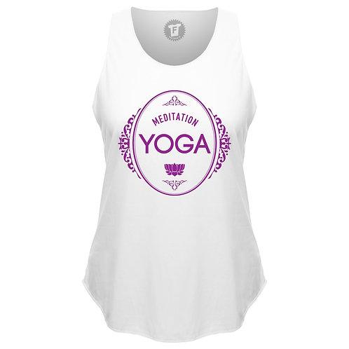 Meditation Yoga - Frauen Yoga Loose Tank Top