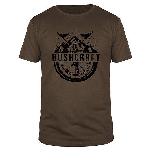 Bushcraft Kompass  - Männer T-Shirt