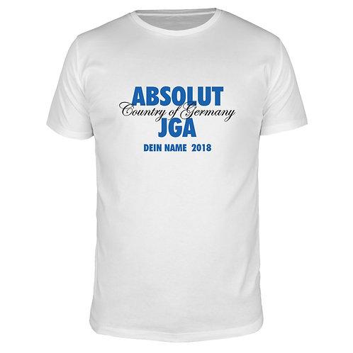 ABSOLUT JGA - Männer T-Shirt