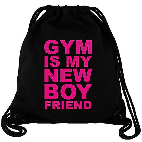 Gym is my new Boyfriend - Gym Bag Turnbeutel