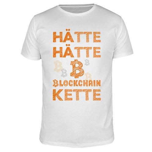Hätte Hätte Blockchain Kette - Männer T-Shirt