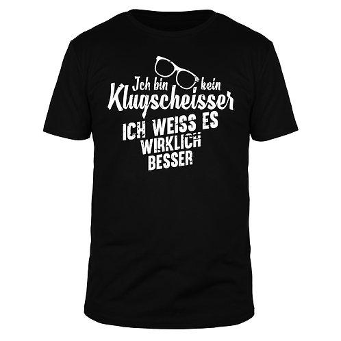 Ich bin kein Klugscheisser - Männer T-Shirt