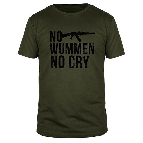No Wummen No Cry - Männer T-Shirt