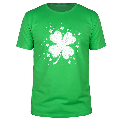 St. Patricks Day - Kleeblatt - Männer T-Shirt
