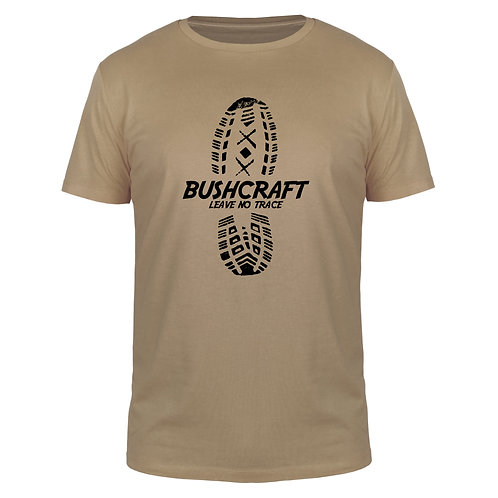 Bushcraft Leave No Trace - Männer T-Shirt